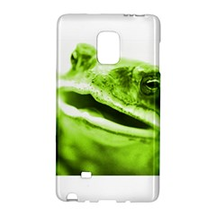 Green Frog Galaxy Note Edge by timelessartoncanvas
