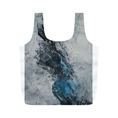 Ghostly Fog Full Print Recycle Bags (m)  by timelessartoncanvas