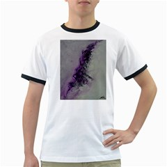 The Power Of Purple Ringer T-shirts