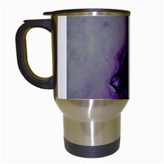 The Power Of Purple Travel Mugs (white) by timelessartoncanvas