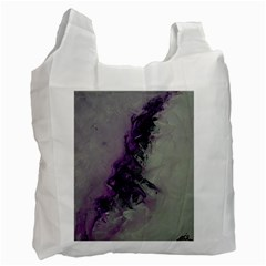 The Power Of Purple Recycle Bag (two Side)  by timelessartoncanvas