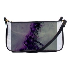 The Power Of Purple Shoulder Clutch Bags by timelessartoncanvas