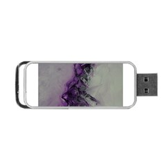 The Power Of Purple Portable Usb Flash (two Sides)