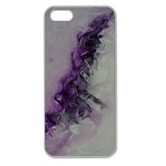 The Power Of Purple Apple Seamless Iphone 5 Case (clear)