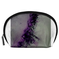 The Power Of Purple Accessory Pouches (large)  by timelessartoncanvas