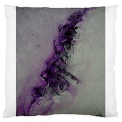 The Power Of Purple Large Flano Cushion Cases (two Sides)