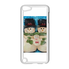 Snowman Family Apple Ipod Touch 5 Case (white) by timelessartoncanvas
