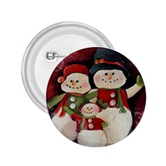 Snowman Family No. 2 2.25  Buttons