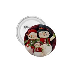 Snowman Family No. 2 1.75  Buttons