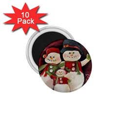 Snowman Family No. 2 1.75  Magnets (10 pack)
