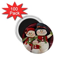 Snowman Family No. 2 1.75  Magnets (100 pack)