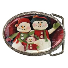 Snowman Family No. 2 Belt Buckles