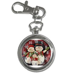 Snowman Family No. 2 Key Chain Watches