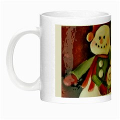 Snowman Family No. 2 Night Luminous Mugs