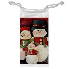 Snowman Family No. 2 Jewelry Bags