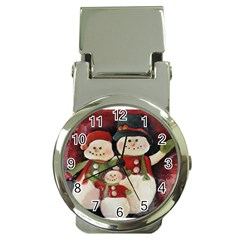 Snowman Family No. 2 Money Clip Watches