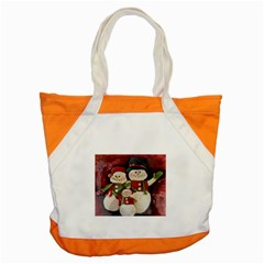 Snowman Family No. 2 Accent Tote Bag