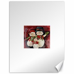 Snowman Family No. 2 Canvas 18  x 24
