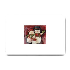 Snowman Family No. 2 Small Doormat