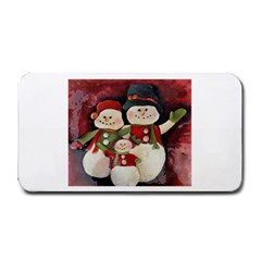 Snowman Family No. 2 Medium Bar Mats