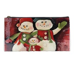 Snowman Family No. 2 Pencil Cases