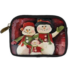 Snowman Family No. 2 Digital Camera Cases