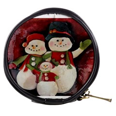 Snowman Family No. 2 Mini Makeup Bags