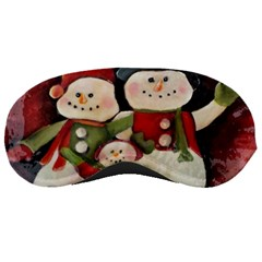 Snowman Family No. 2 Sleeping Masks