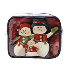 Snowman Family No. 2 Mini Toiletries Bags