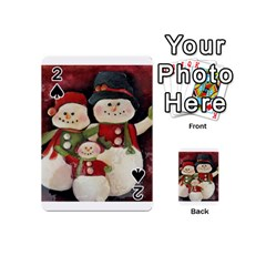 Snowman Family No. 2 Playing Cards 54 (Mini)