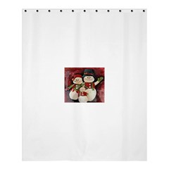 Snowman Family No. 2 Shower Curtain 60  x 72  (Medium)