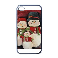 Snowman Family No. 2 Apple iPhone 4 Case (Black)