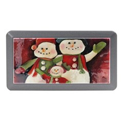 Snowman Family No. 2 Memory Card Reader (Mini)
