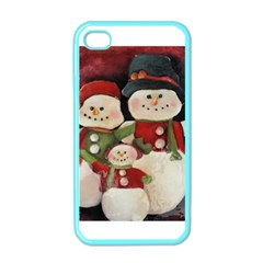 Snowman Family No. 2 Apple iPhone 4 Case (Color)