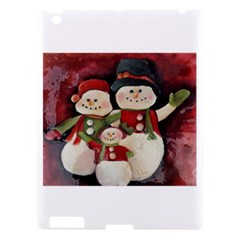 Snowman Family No. 2 Apple iPad 3/4 Hardshell Case