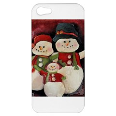 Snowman Family No. 2 Apple iPhone 5 Hardshell Case