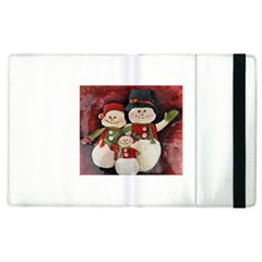 Snowman Family No. 2 Apple iPad 2 Flip Case