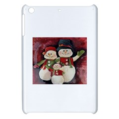 Snowman Family No. 2 Apple iPad Mini Hardshell Case