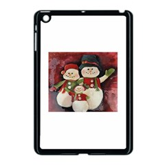 Snowman Family No. 2 Apple iPad Mini Case (Black)