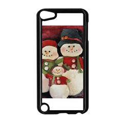 Snowman Family No. 2 Apple iPod Touch 5 Case (Black)