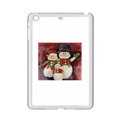 Snowman Family No. 2 iPad Mini 2 Enamel Coated Cases