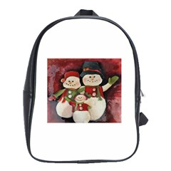 Snowman Family No. 2 School Bags (XL)