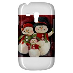 Snowman Family No. 2 Samsung Galaxy S3 MINI I8190 Hardshell Case