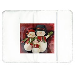 Snowman Family No. 2 Samsung Galaxy Tab 7  P1000 Flip Case