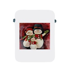 Snowman Family No. 2 Apple iPad 2/3/4 Protective Soft Cases