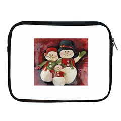 Snowman Family No. 2 Apple iPad 2/3/4 Zipper Cases