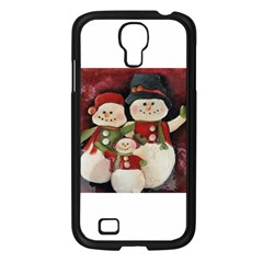Snowman Family No. 2 Samsung Galaxy S4 I9500/ I9505 Case (Black)