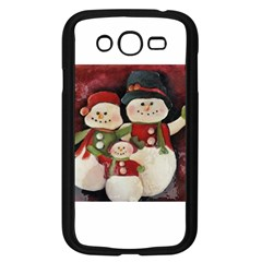Snowman Family No. 2 Samsung Galaxy Grand DUOS I9082 Case (Black)