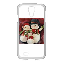 Snowman Family No. 2 Samsung GALAXY S4 I9500/ I9505 Case (White)