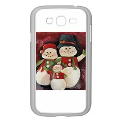 Snowman Family No. 2 Samsung Galaxy Grand DUOS I9082 Case (White)
